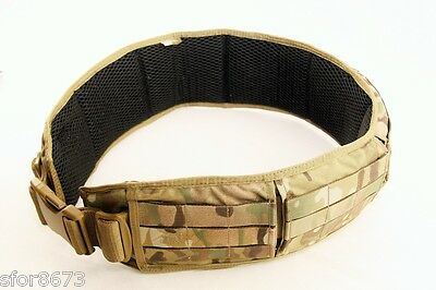 WARRIOR Padded Load Bearing MOLLE Belt System Tasmanian Tiger Multicam Cordura