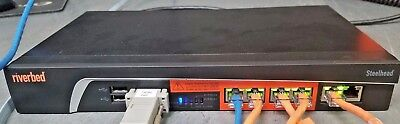 Riverbed Steelhead CXA-00555-B010 w/L License, 250 Conn. Riverbed Specialists