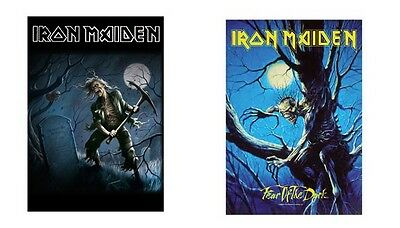 Iron Maiden - Benjamin Breeg / Fear Of The Dark - Official Textile Poster Flag
