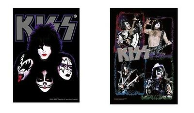 Kiss - Faces / Frames - Official Textile Poster Flag