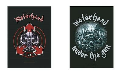 Motorhead - 27 Logo / Under The Gun - Official Textile Poster Flag