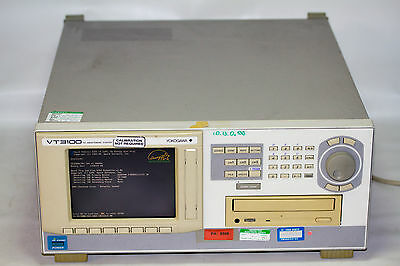 YOKOGAWA VT3100E Digital Content Recorder and TS Player