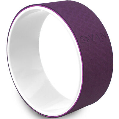 Yoga Wheel by Sivan Health&Fitness-Extra Strength Prop with Premium Mat Material