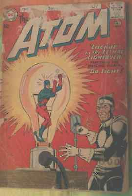 REDUCED! THE ATOM VOL 1 ISS 8 w/THE AMAZING VILLAIN DR. LIGHT! FREE SHIPPING!!!