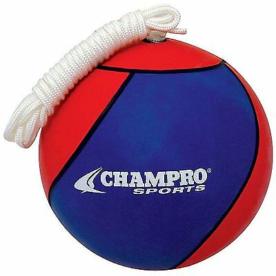 Champro Tetherball Royal/Scarlet, Official