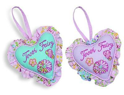 Maison Chic Priscilla Tooth Fairy Pillows Set of 2 ... Great  Baby Shower Gift!