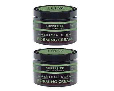 American Crew Forming Cream Supersize 150g Duo Pack  Free Express Post