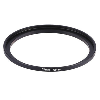 Hot 67mm-72mm 67mm To 72mm Step-Up Rings Metal Lens Adapter Filter Ring 67-72