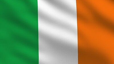 REPUBLIC OF IRELAND IRISH TRI COLOUR FLAG 5FT X 3FT with EYELETS