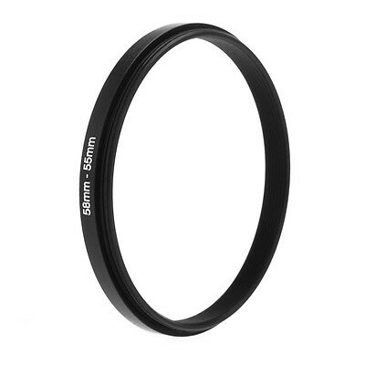 58mm-55mm 58mm To 55mm Step Down Rings Metal Lens Filter Ring Adapter 58-55