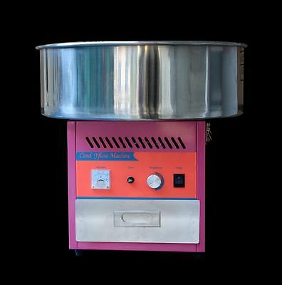 Electric Commercial Candy Floss Making Machine Cotton Sugar Maker 220V T