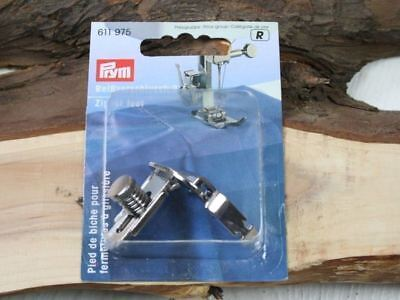Prym Adjustable Zipper Piping Sewing Machine Presser Foot Brother/Toyota/Janome