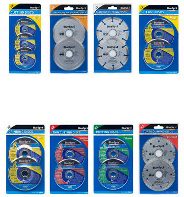 115Mm Cutting Grinding Discs Diamond, Metal, Stone, Stainless Steel, Disc New