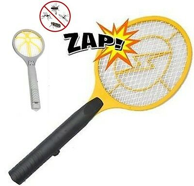 Electric Zapper Bug Bat Fly Mosquito Insect Killer Wasp Trap Swat Swatter Racket