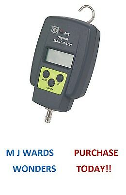 TPI 608 Single Input Manometer - Range from -150 to +150 mBar