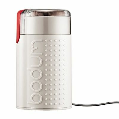 Bodum Bistro - Electric Coffee Grinder - Stainless Steel - Off White