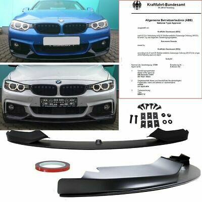 BMW 4er F32 Coupe F33 Cabrio F36 Grand Coupe Frontspoiler M-Performance Optik