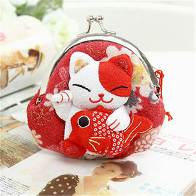 Porte-monnaie Maneki-neko Fortune Cat Jap  kawaii