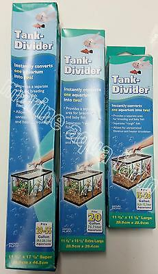 Penn Plax Aquarium Dividers 4 Sizes, Breeding Aquarium Splitter, Fry, Fish Tank