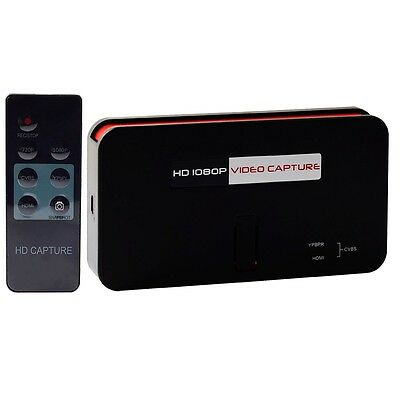 ^nz Acquisizione audio video recorder Hdmi Full-HD VHS Game capture telecomando