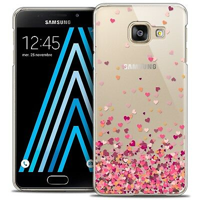 Coque Crystal Galaxy A3 2016 (A310) Extra Fine Rigide Sweetie Heart Flakes