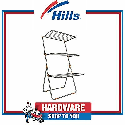 Hills Clothes Line Airer Trilogy 14.8m Portable Clothesline
