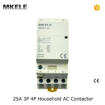 MKWCT-25 Household AC Contactor 25A 4P 2NC 2NO For Electrical Department