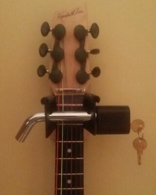 Guitarhitch Wall Hanger Mount Lock Security for Guitar