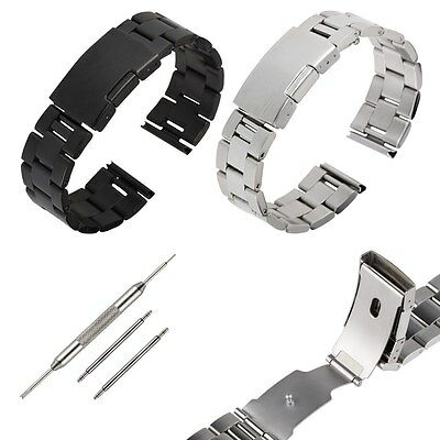 22mm Stainless Steel Watch Band Strap For Samsung Gear 2 NEO/LG G Watch R Pebble