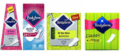 Bodyform So Slim, String, Extra Long Panty Liners