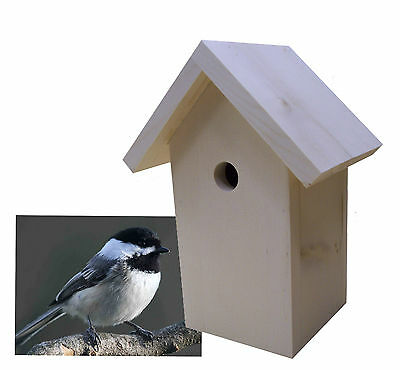Easy Simple Chickadee Birdhouse Plans