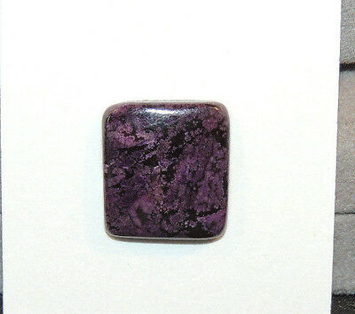 Sugilite Cabochons 15.5x17mm with 3.5mm dome from South Africa  (10618)