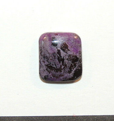 Sugilite Cabochons 14.5x17mm with 5.5mm dome from South Africa  (10620)