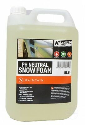 ValetPRo pH Neutral Snow Foam 5L Shampoo Foaming stark schäumend