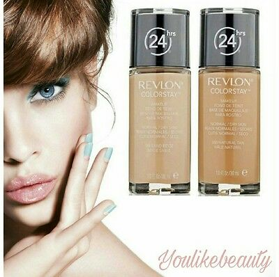 Revlon ColorStay Make Up Foundation DRY Skin 30ml •••FARBAUSWAHL•••