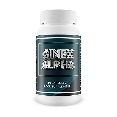 GinexAlpha - Gynecomastia MAN BOOB Treatment 60 Capsules