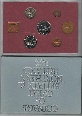 1x Uncirculated Coin Set 1979 Coinage Of Great Britain & Northern Ireland