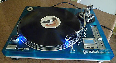 Gemini PT-2410 Special Edition - High Torque Direct Drive Professional Turntable