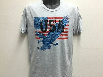 American Eagle United States Flag US Patriotic 4th Fourth of July Mens T  Shirt S f1d6c2c47