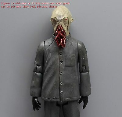 """Doctor Dr Who  Ood Nephew Sigma Natural  Action figure 5.5"""" old lost color"""