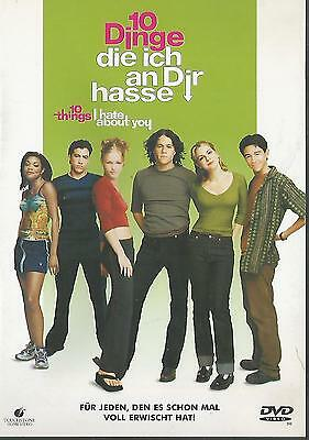 10 Dinge, die ich an dir hasse - Heath Ledger, Julia Stiles / DVD #4435