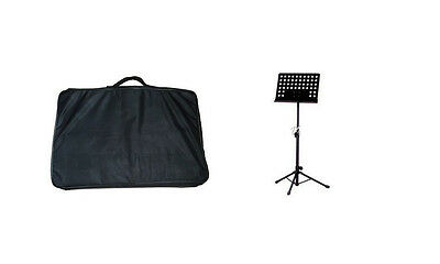 Metal Music Stand, Tripod Stand Holder With Carrying Bag