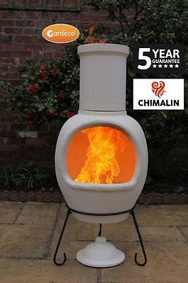 ASTERIA extra-large chimenea made of Chimalin AFC! Garden Patio Heater Fire