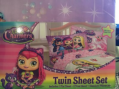 Little Charmers Twin Comforter and Sheet Set