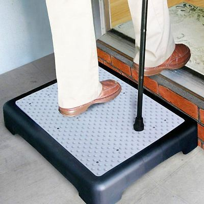 EZ Half Step AntiSlip Disability Climb Door Walking Mobility Aid XLarg Platform