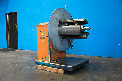 "4,000 LB x24"" American Sheet Metal Uncoiler Coil Reel Payoff Rollforming Stamp"