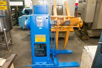 "3,000 LB x18"" CWP Power Coil Reel Sheet Metal Uncoiler Stamping Feed Punch Press"
