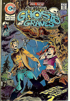 Many Ghosts of Doctor Graves #49 (1975; fn+ 6.5) Newton/Adkins & Sutton art