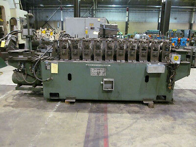 "Samco Roll Former With Cut Off 10 Stand x 6"" RS x 2"" Shaft"