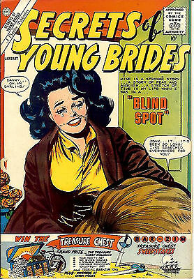 Secrets of Young Brides #23 (Charlton 1960 vf 8.0) Guide value: $18.00 (£12.00)